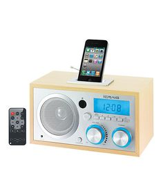 Take a look at this iCraig Digital FM Radio Alarm Clock Radio by Craig Electronics on #zulily today!