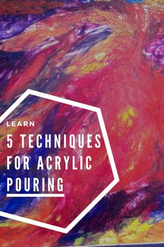 Let the Pour Set You Free: 5 Techniques for Letting Go and Allowing Your Paintings to Surprise You via @acrylicpouring