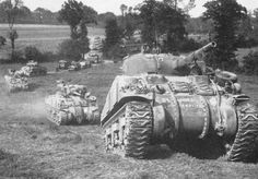 Operation Charnwood a Anglo-Canadian offensive taken place July 8,9 1944, during Battle of Normandy. This operation intended to partially capture the German-occupied French city of Caen.
