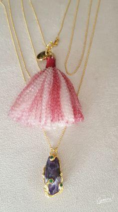 Vergara Collection - Claudia Trejos Necklace Designs, Chokers, Necklaces, Pendant Necklace, Collection, Jewelry, Fashion, Moda, Jewlery