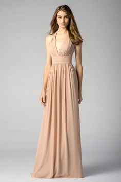 Watters Maids Dress Josephine
