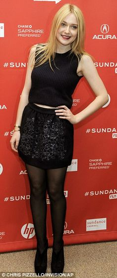 Dakota Fanning at Sundance