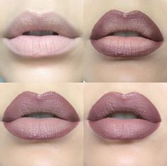mauve lip tutorial f