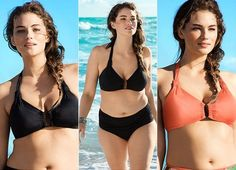 """When H&M hired a """"plus-size"""" model to show off the range of sizes for its beachwear, the ad campaign caused much discussion...."""