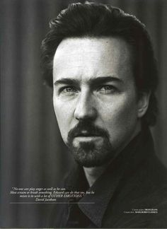 Edward Norton...I certainly do love this guy!