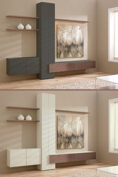 Banz Bord: strakke design wandmeubels voor het moderne interieur. Voor liefhebbers van een strakke woonkamer met voldoende, efficiënte opbergmogelijkheden. Banz Bord kasten worden in Nederland geproduceerd en zijn naar eigen idee te componeren.  wandmeubel op maat   wandmeubel woonkamer   wandmeubel zwevend   huisinrichting   woonkamer kast tv #banzbord #wandmeubel #woonkamer Storage, Furniture, Design, Home Decor, Purse Storage, Decoration Home, Room Decor, Home Furniture, Interior Design