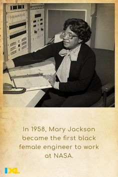 On the International Day of Women and Girls in Science, learn more about this inspiring mathematician and aerospace engineer! #TBT