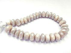 "10 12 MM PINK MOONSTONE aqua mystic coated natural gemstone 8"" strand"