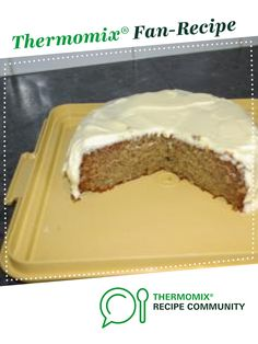Banana Cake with Cream Cheese Icing by ange@fitzsimmons.com.au. A Thermomix <sup>®</sup> recipe in the category Baking - sweet on www.recipecommunity.com.au, the Thermomix <sup>®</sup> Community.