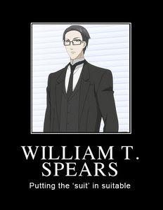 William t spears william t spears from kuroshitsuji black butler