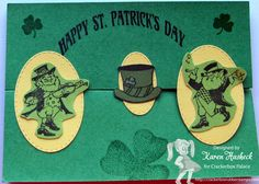 Karen's Kreative Kards: St. Patrick's Day Fun Fold Card