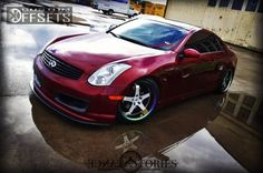 infinity g35 image custome | 415 3 2006 g35 infiniti 2dr coupe 35l 6cyl 6m dropped 1 3 ti 5 custom ...