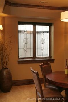 Stove design and wood mantle on pinterest Fake window for basement
