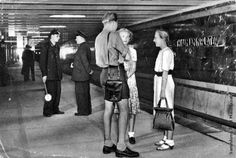 Das Berliner U-Bahn-Archiv - historische Aufnahmen - Kaiserhof, Thälmannplatz, Otto-Grothewohlstraße - heute Mohrenstraße