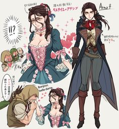Fem! Arno I WANNA COSPLAY HER ASSASSIN OUTFIT