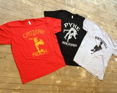 Game of Thrones inspired screen printed tees. Available at www.fishnecktofu.com