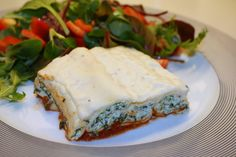 Cannelloni med spinat og ricotta Ravioli, Parmesan, Bacon Quiche, Frisk, Spanakopita, Mozzarella, Sandwiches, Food And Drink, Low Carb