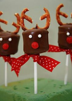 Marshmellow reindeer