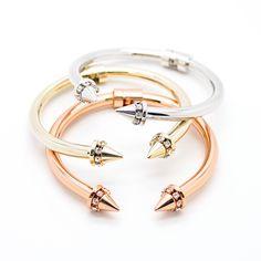 Spikes bangle bracelet – Imsmistyle.