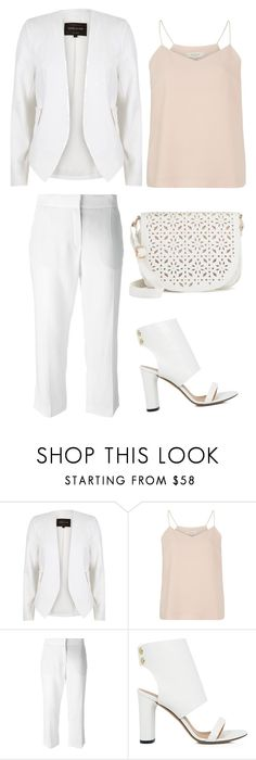 """""""Untitled #559"""" by water-element ❤ liked on Polyvore featuring River Island, SELECTED, Lanvin, IRO and Under One Sky"""