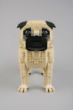 Lego pug