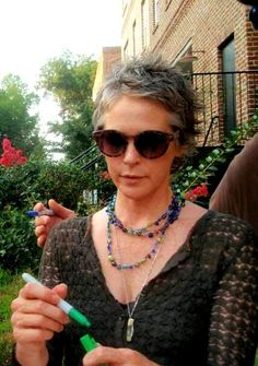 Melissa McBride, AKA the most beautiful, amazing woman. <3