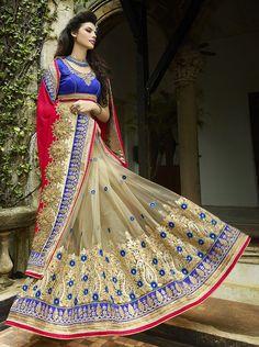 Rukmini Designer Saree Collections @ArtistryC  Shop on: http://artistryc.in/brands.aspx?cat=ABRD-00149