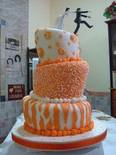 Torta de bodas original
