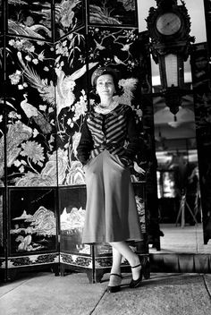 """""""I don't care what you think about me. I don't think about you at all"""".    Gabrielle """"Coco"""" Chanel, 1937"""