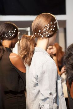 Backstage at Honor, Spring 2014