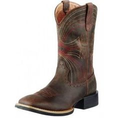 Ariat men's cowboy boots and western boots pair classic styling with advanced technology. Find the perfect men's cowboy boot today. Ariat Mens Boots, Boot City, Western Boots For Men, Mens Boots Fashion, Fashion Hair, Square Toe Boots, Shoe Boots, Men's Boots, Leather