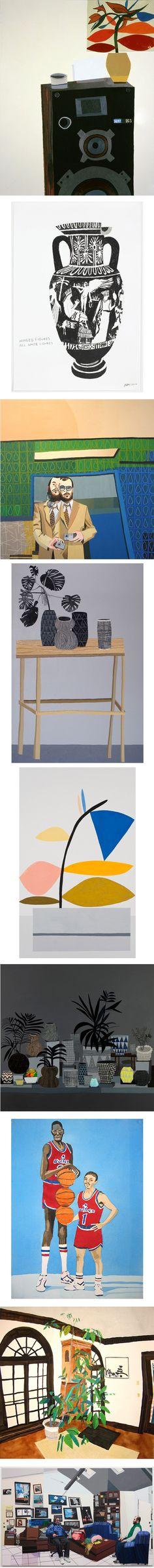 Jonas Wood via http://antonkerngallery.com/artist.php?aid=42