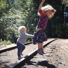 I know it's not #tbt today but this pic of Lola and Ava at Roaring Camp popped up on my Facebook feed today as a memory from four years ago. Four years later and it's still one of my favorite photos ever! #Ava #Lola #roaringcamp #roaringcamprailroads #jump #sisters