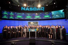 ReachLocal rings the opening bell at Nasdaq in September 2010.