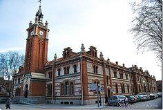 Casa del Reloj de la Arganzuela, Madrid, Spain | la llamada casa del reloj es uno de los edificios que forma parte de ...