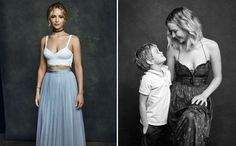 How I photographed Jennifer Lawrence