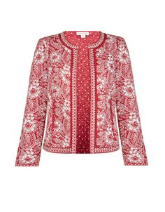 This ARTISAN piece includes intricate hand-embellishment. This technique gives our garments a unique look, and helps to sustain a traditional… in 2020 Boho Fashion, Fashion Outfits, Womens Fashion, Summer Jacket, Indian Designer Outfits, Professional Outfits, Free Clothes, Quilted Jacket, Casual Chic