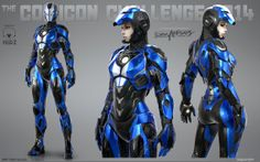 Iron Girl - Mark SRT 1 Barracuda Would you like to see Pepper Potts wearing this? Art by Bogdan Gabelko Iron Man Kunst, Iron Man Art, New Iron Man, Space Opera, Female Armor, Futuristic Armour, Sci Fi Armor, Suit Of Armor, Body Armor