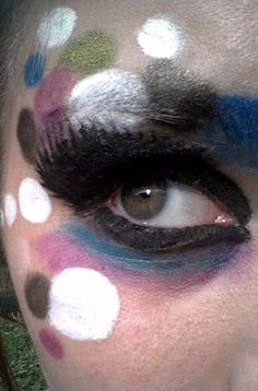 Crazy makeup for a photoshoot!