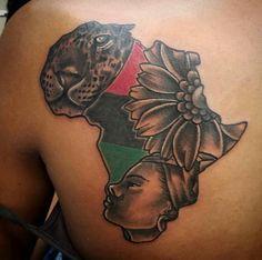 Mama africa tattoo #tattoo