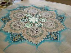 1 Islamic Art Pattern, Pattern Art, Arabesque, Arabic Art, Arabic Calligraphy, Turkish Art, Geometric Designs, Art Forms, Outdoor Blanket