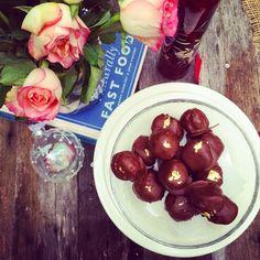 Butterscotch Brownie Truffles www.littlepud.blogspot.com