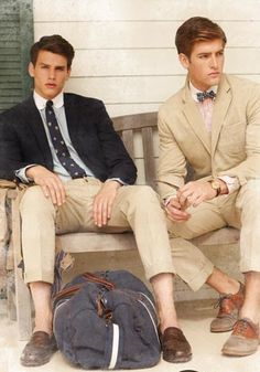 don't know who they are, but they deserve to be on this board. i love a well dressed man :)
