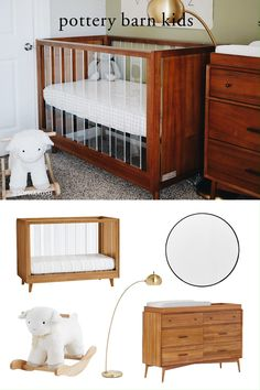 When preparing your baby's room, shopping for nursery furniture is just one more joy during a period of real happiness. Find everything you need for your nursery when you browse stylish and well-made cribs, changing tables and other furniture.