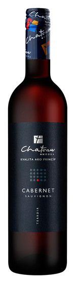 In stock - 4,79€ 2011 Château Modra Terroir Cabernet Sauvignon, red dry , Slovakia