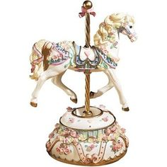 Carousel Music Box Company | Image detail for -San Francisco Music Box Company Carousel Horses