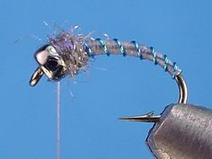 Deep Blue Poison Tung....another midge variation....18-24. For more fly fishing info follow and subscribe www.theflyreelguide.com Also check out the original pinners site and support