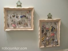 I have one like this & love it - keeps my earrings visible, which helps to keep track of what I have!