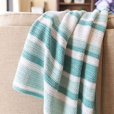 All Double Crochet Afghan | Kristine in between