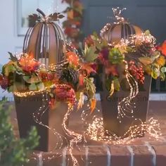 With Firefly Bunch Lights bring a decorative look to your place while illuminating it! Our Firefly Bunch Lights have a flexible, bendable wire with warm white micro LEDs so you can create magical lighted designs. Simply shape, bend and twist them ho Outdoor Christmas, Christmas Lights, Christmas Time, Christmas Ornaments, Fall Lights, Christmas Parties, Holiday Lights, Christmas Wedding, Fall Wedding